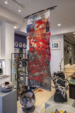 Installation at Gravers Lane Gallery Philadelphia